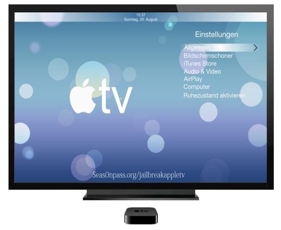 Jailbreak Apple TV - Seas0nPass Untethered Jailbreak